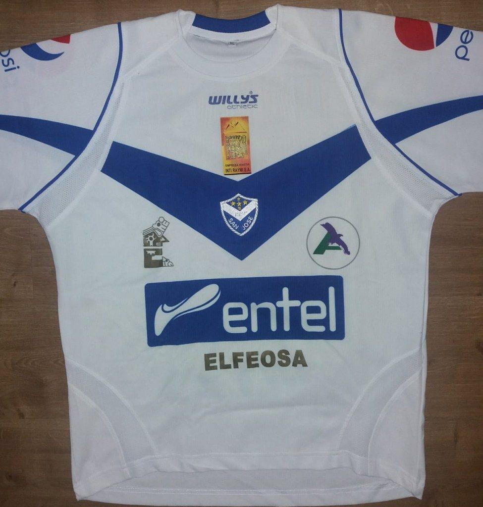 Camisa do San José de Oruro- Bolívia
