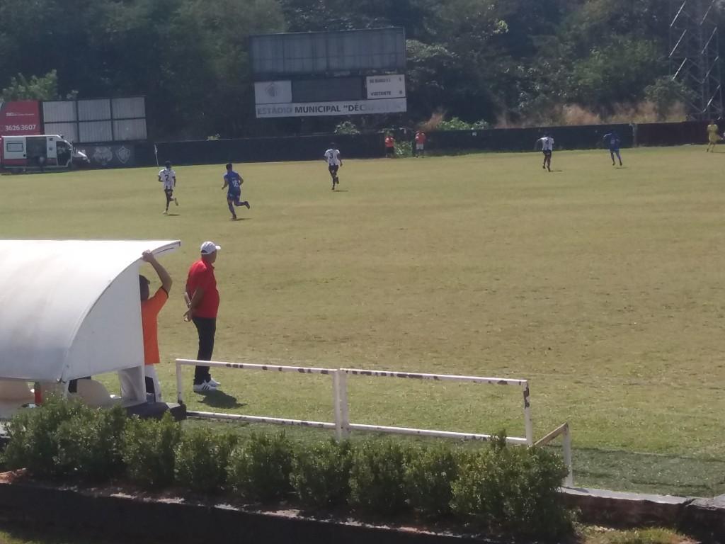 Treinador do AD Guarulhos - Rio Branco x AD Guarulhos - Estádio Décio Vitta - Americana