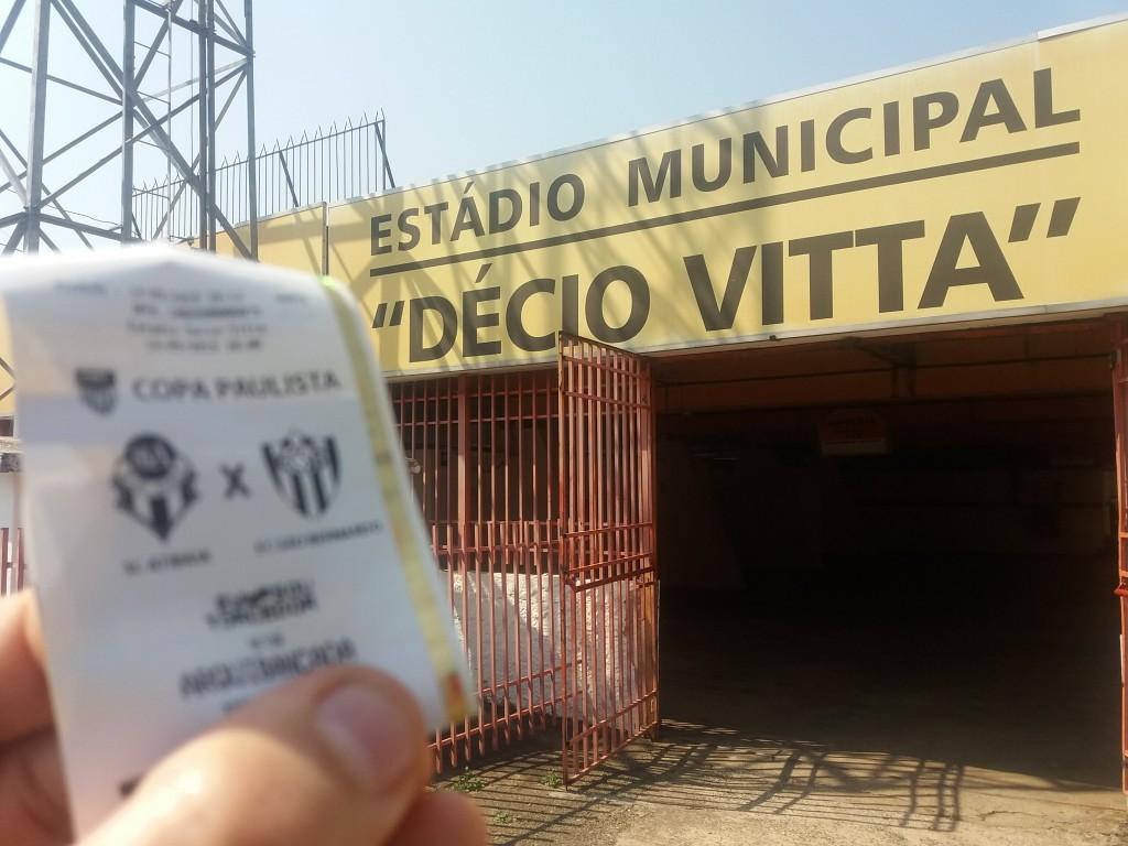 Estádio Municipal décio Vitta - SC Atibaia x EC São Bernardo - Copa Paulista 2019