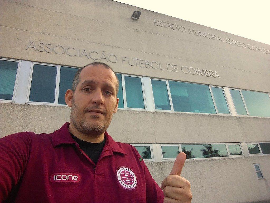 Estádio Municipal Sérgio Conceição - Taveiro - Associação Futebol de Coimbra