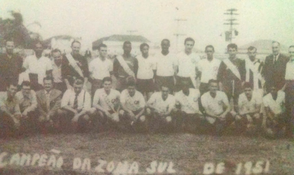 Corinthinas de Santo André - 1951 - Campeão da Zona Sul