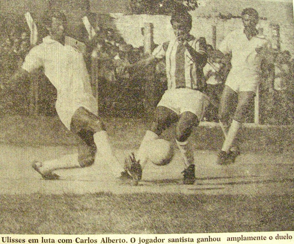 Santo André FC x Santos F (1o jogo do Santo André) Santo André FC x Santos F (1o jogo do Santo André) 8 de abril de 1968