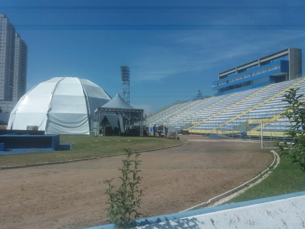 Estádio Bruno José Daniel - hospital de campanha 2020