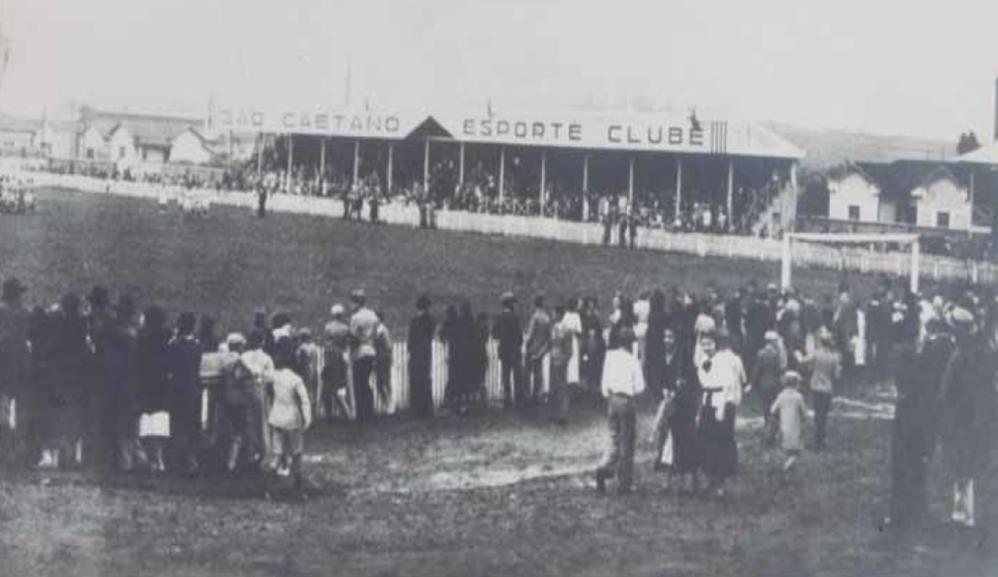 Estádio da rua Paraíba - São Caetano EC