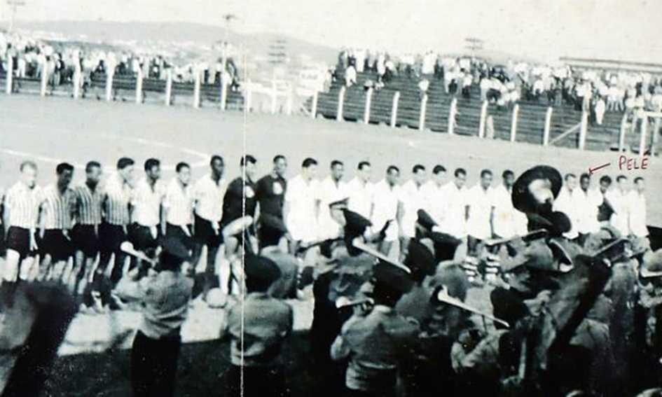 Corinthians de Santo André 1x7 Santos (7 de setembro de 1956)