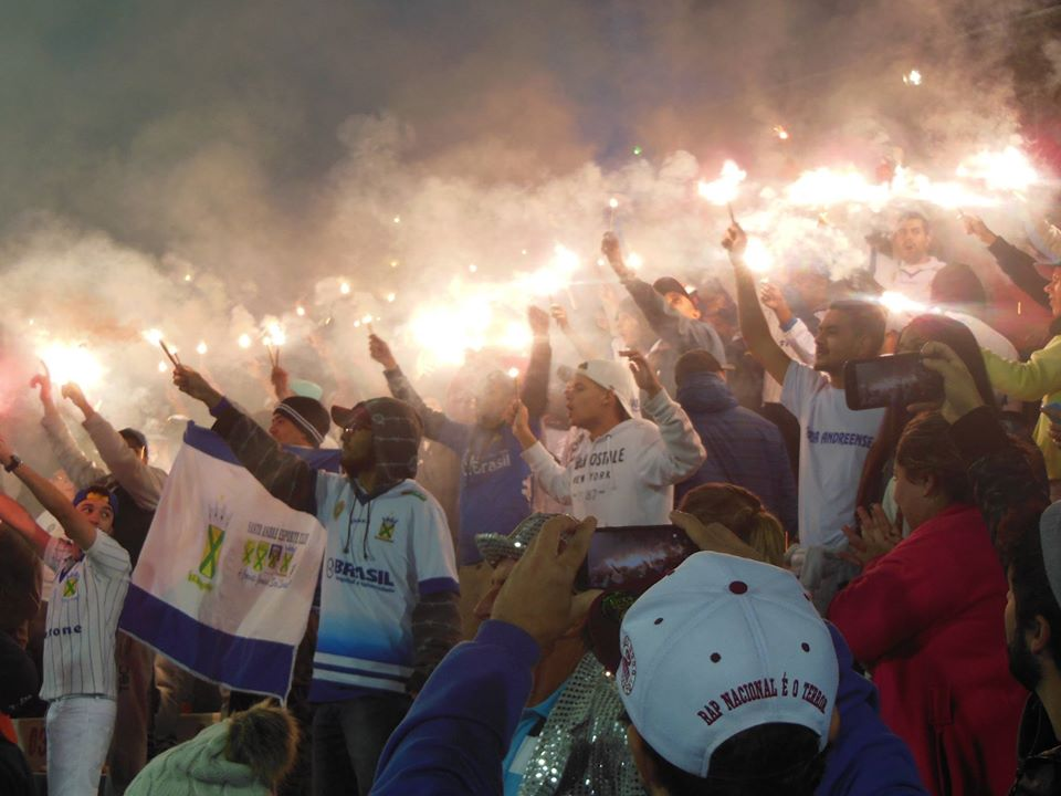 Reinauguração do sistema de iluminação do Estádio Bruno José Daniel - EC Santo André