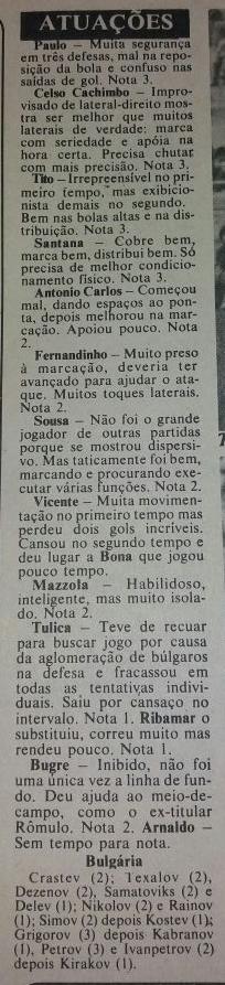EC Santo André 0x0 Bulgária - Inauguração da arquibancada do Estádio Bruno José Daniel