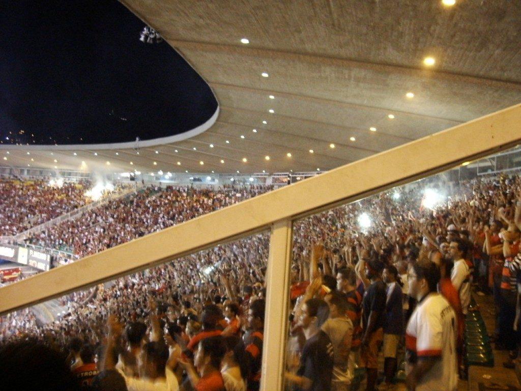 Flamengo x Santo André - Copa do Brasil 2004 - Estádio Maracanã