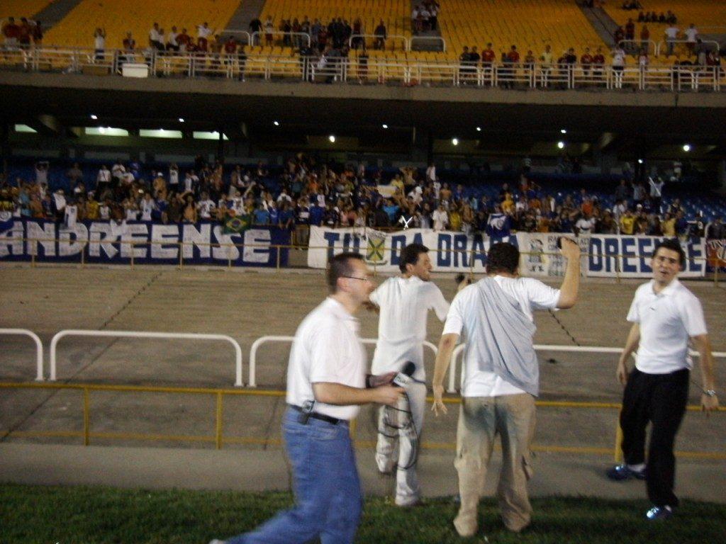 Flamengo x Santo André - Copa do Brasil 2004 - Estádio do Maracanã