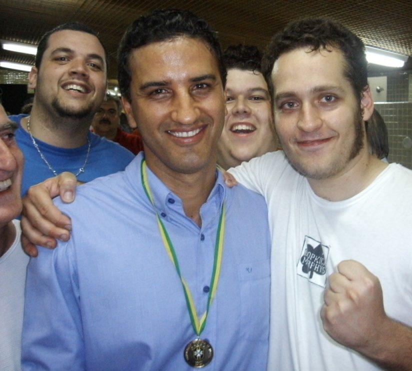 Péricle Chamusca - Santo André Campeão da Copa do Brasil 2004 - Maracanã