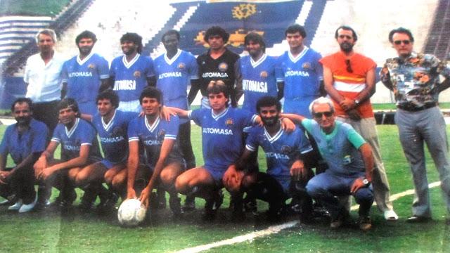 Gremio Mauaense Campeão do Campeonato Paulista série A3 1985