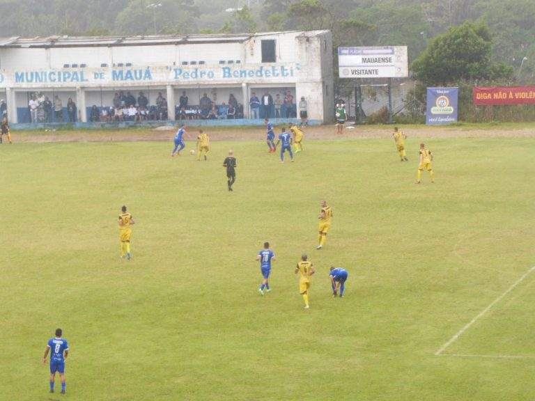 Maua FC x AA Itararé