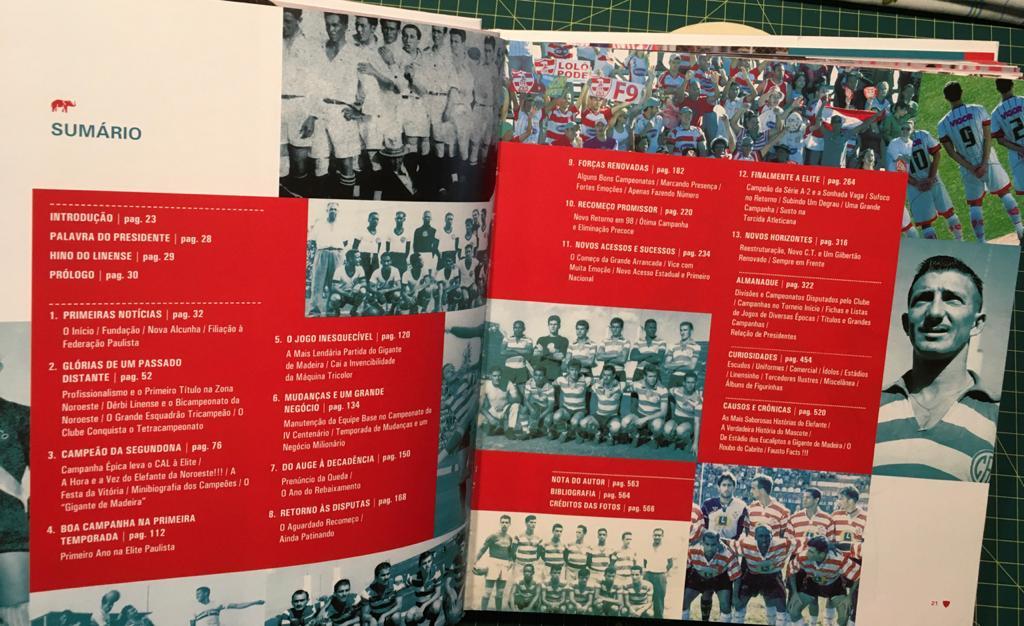 Livro Clube Atlético Linense - O elefante da Noroeste