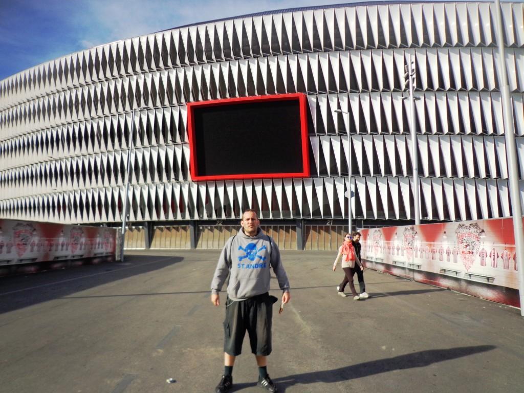 Novo Estádio San Mamés - Bilbao - País Basco