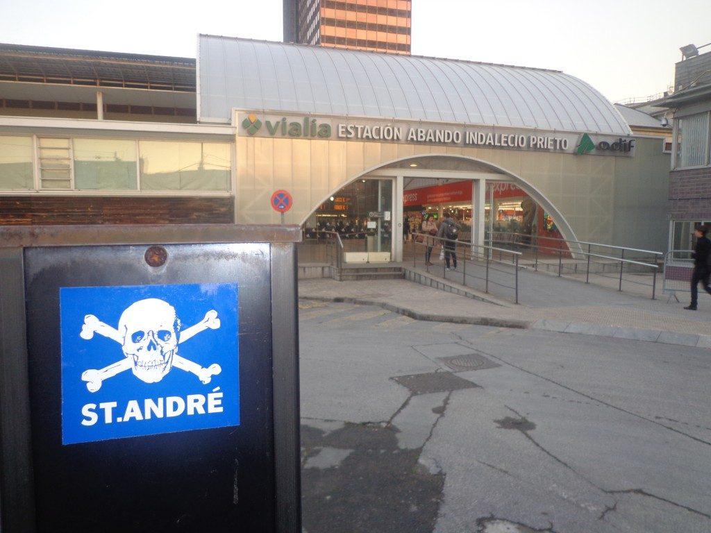 Estação Abando Indalecio Prieto - Bilbao - País Basco