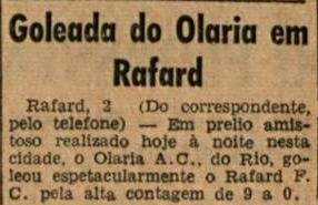 Rafard 0x9 Olaria