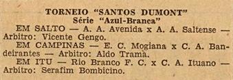 Torneio Santos Dummont