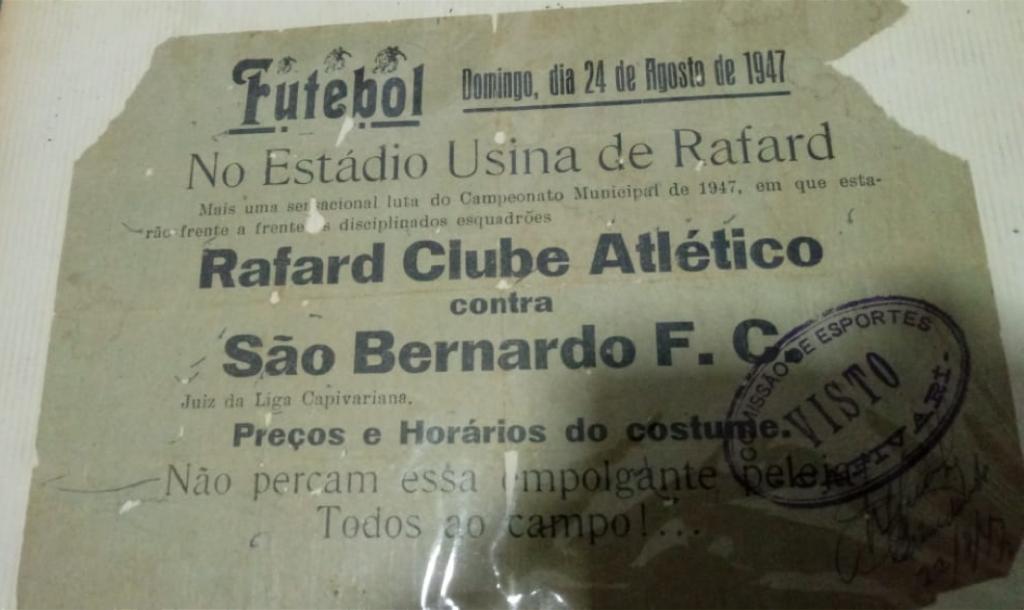 Rafard x São Bernardo