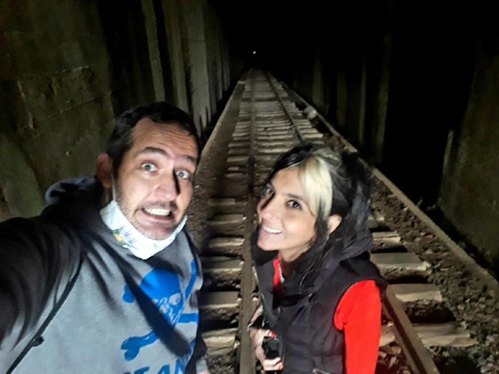 Tunel da Mantiqueira - Maria Fumaça - Passa Quatro - MG