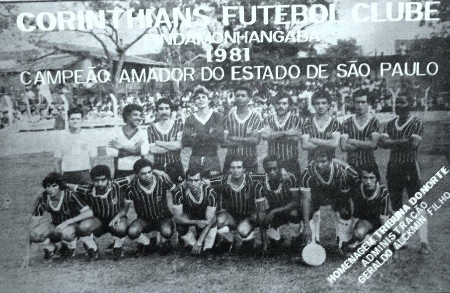 Corinthians FC de Pindamonhangaba 1981