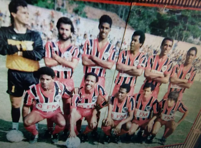 Jacareí Atlético Clube - campeão 1988