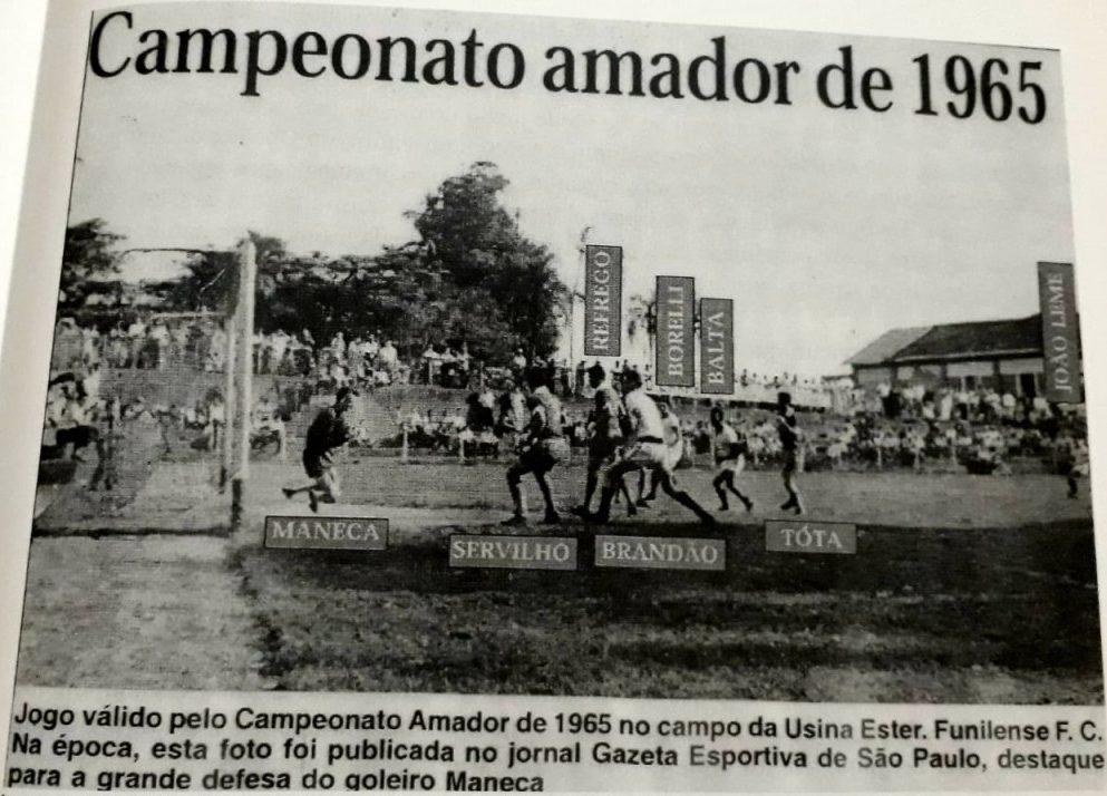 Cosmopolitano FC - Campeonato Amador de 1965
