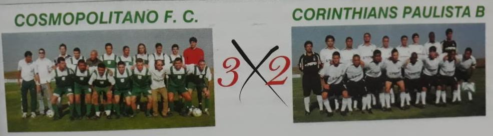 Cosmopolitano FC x Corinthians