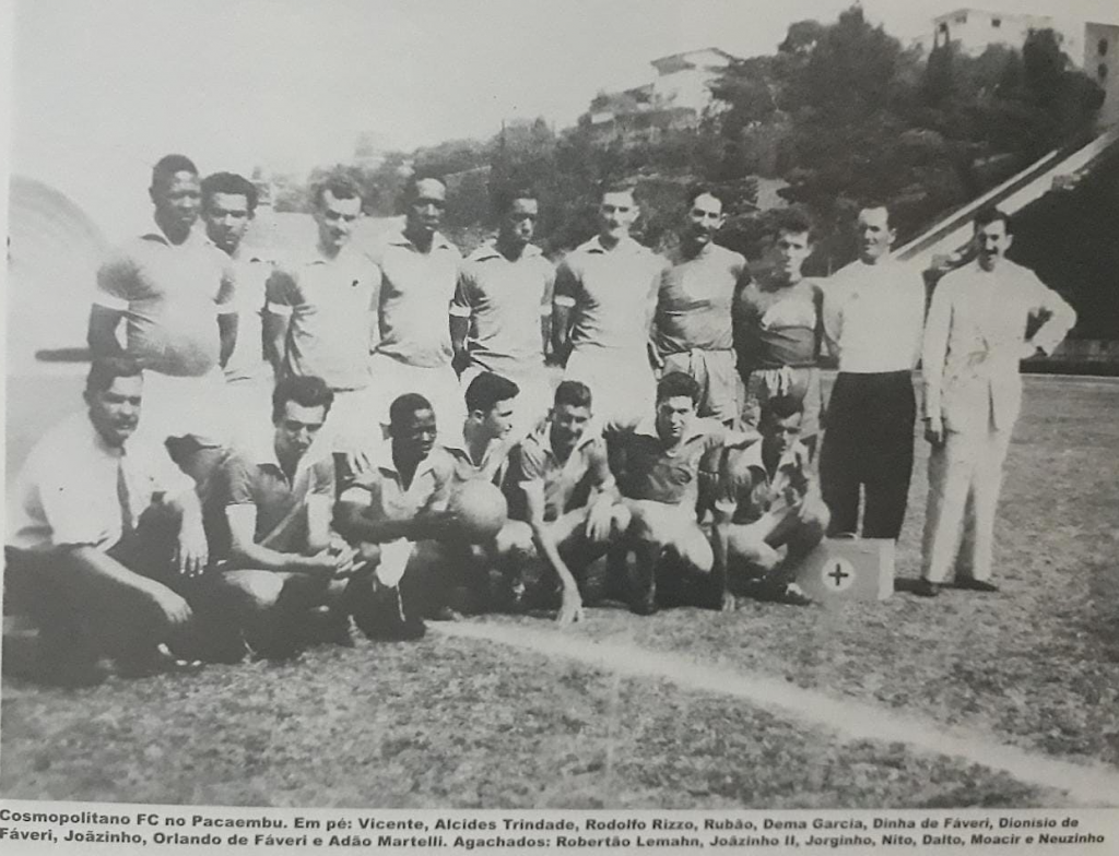 Cosmopolitano FC no Pacaembu