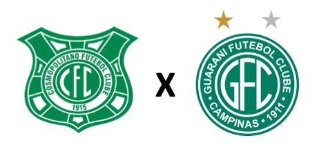 Cosmopolitano FC x Guarani FC