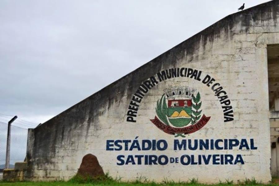 Estádio municipal Satiro de Oliveira - Caçapava