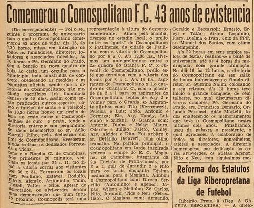 Gazeta Esportiva - 1958