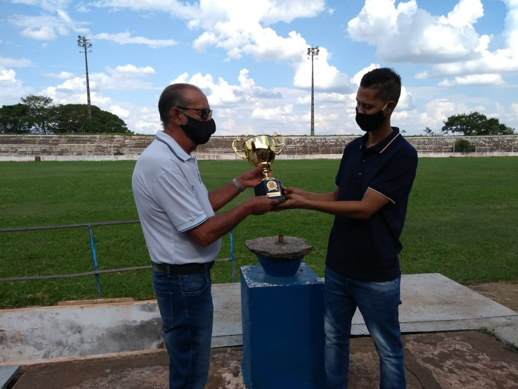 Troféu EC Paraguaçuense campeão da série A2 1993
