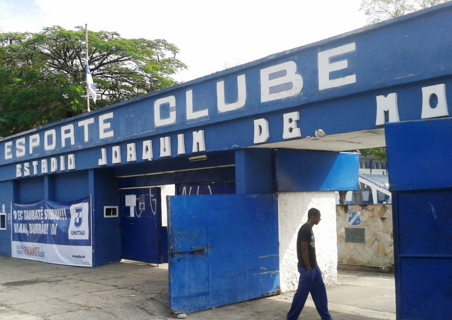 """Estádio Joaquim de Morais Filho, o """"Joaquinzão"""""""