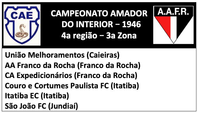 Campeonato Amador 1946