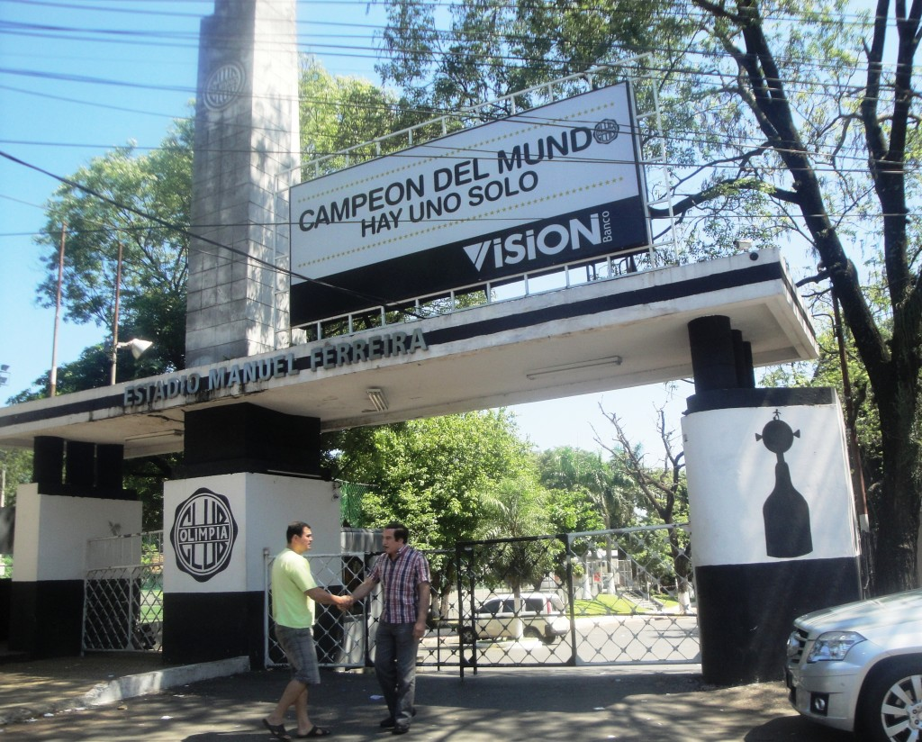 Estádio Manuel Ferreira - Assunção - Paraguai