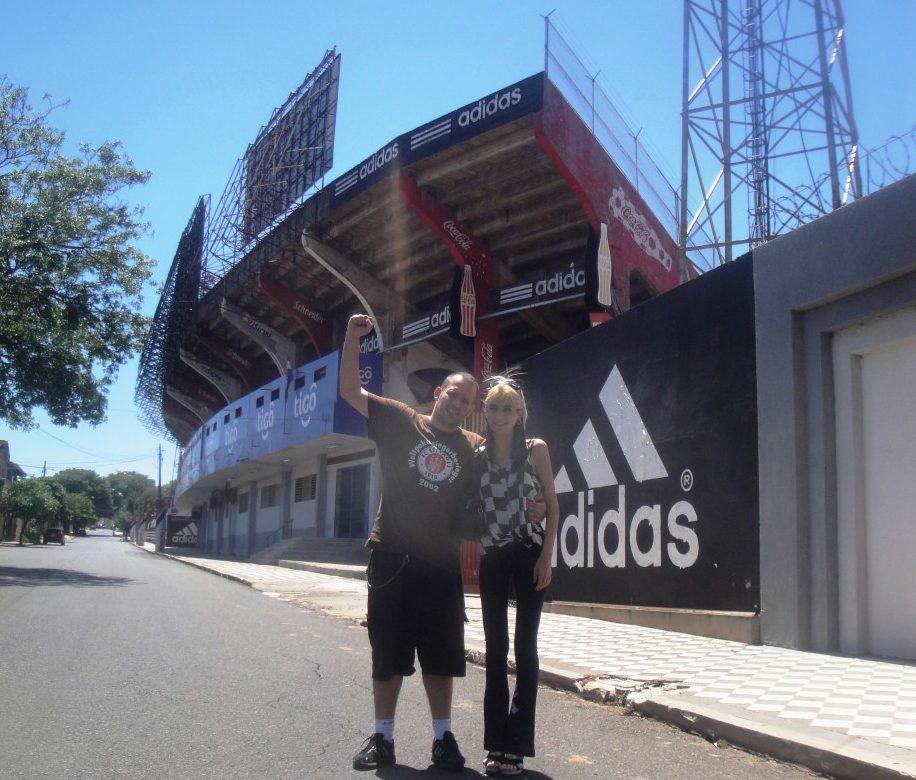 Estádio Defensores del Chaco - Assunção - Paraguai