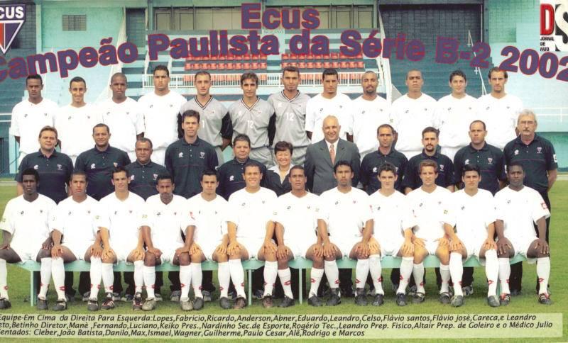 ECUS - Campeão Paulista Série B2 -2002