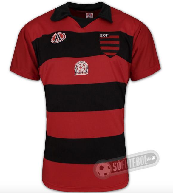 Camisa do EC Flamengo - Franco da Rocha