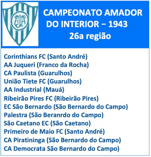 Campeonato Amador 1943