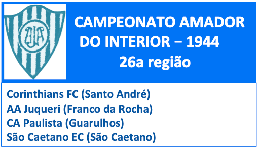 Campeonato Amador do Estado - 1944