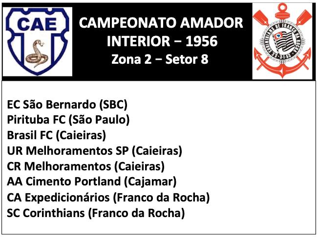 Campeonato Amador 1956