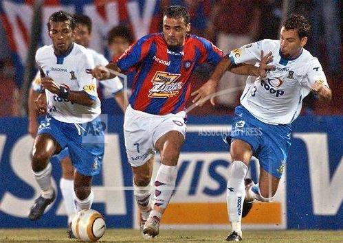 Cerro Portenho x Santo André - Copa Libertadores 2005