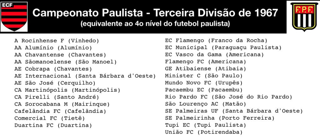 Terceira Divisão - 1967